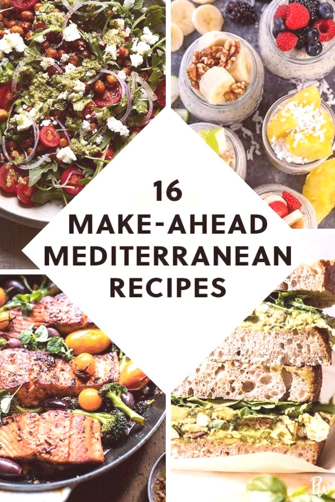 17 Make-Ahead Recipes That Are on the Mediterranean Diet prep