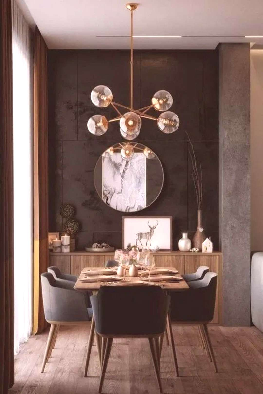 18+ Trendy Contemporary Dining Room Ideas for Stylish Look | DecorTrendy