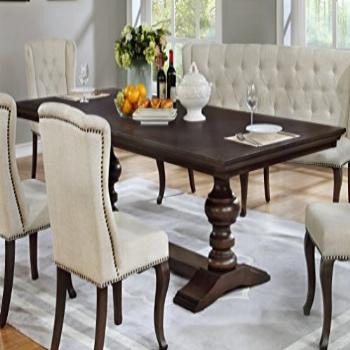 Best Quality Furniture Beige Dining Table