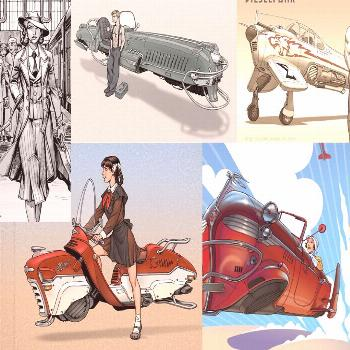 Calling it done: No longer going for a detective look, looking at a more general dieselpunk heroine
