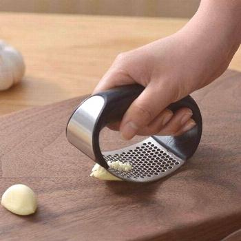 Hand Press Rocker With Stainless Steel Handle for Garlic  Price: $ 9.95 & FREE Shipping