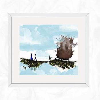 Howl and Sophie Scenery Prints, Howl's Moving Castle.