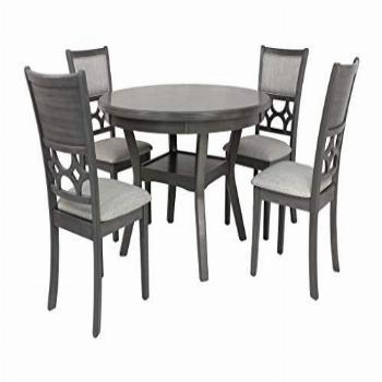 New Classic Furniture Mitchell 5-Piece Dining Table Set,