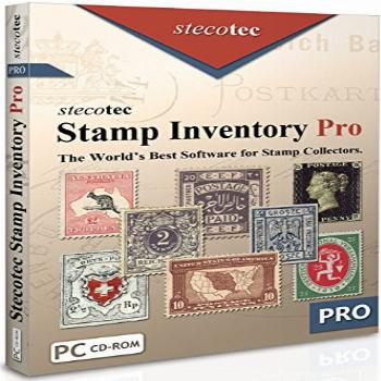 Stamp Collecting Software: Stecotec Stamp Inventory Pro -