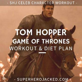 Tom Hopper Workout Routine and Diet Plan: Train like the Black Sails Star -