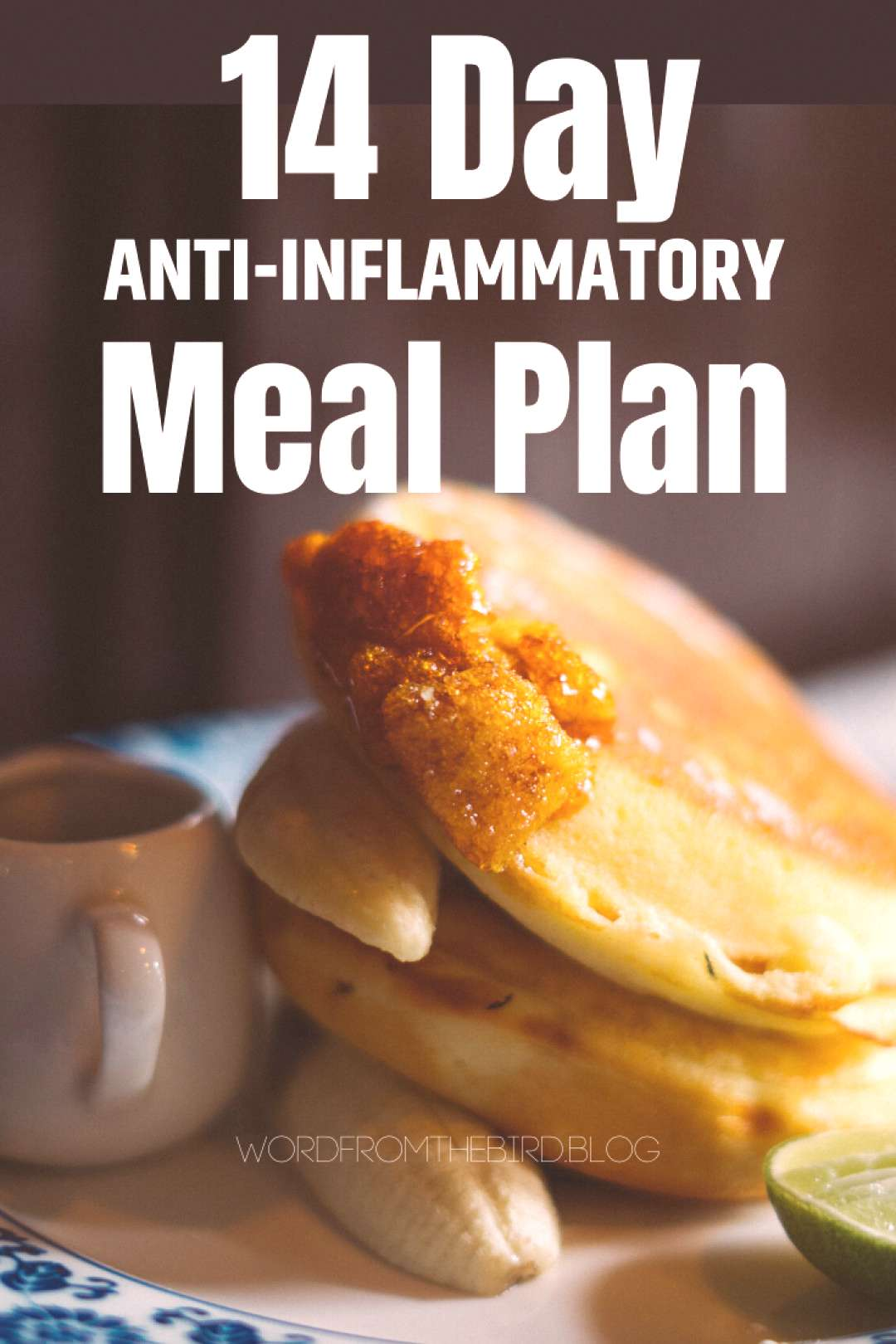 Anti-Inflammatory Meal Plan Recipes fro Breakfast, Lunch, and Dinner- Word From The Bird Diet and w
