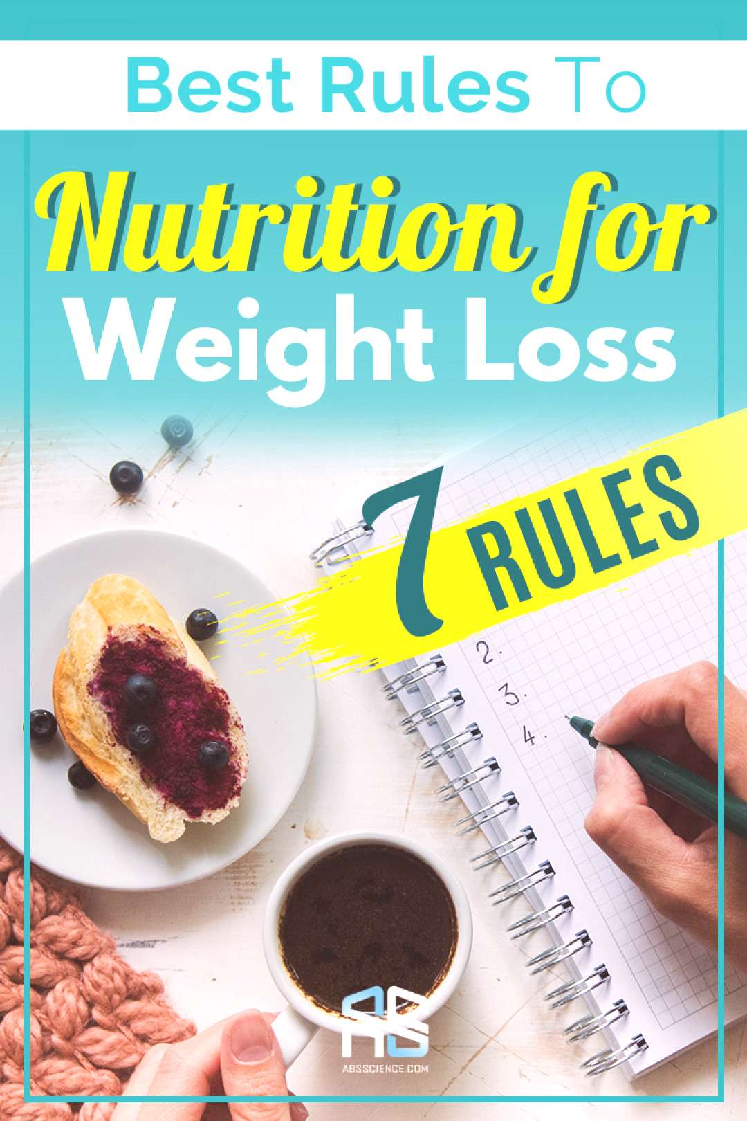 Best Rules to Nutrition for Weight Loss Nutrition for weight loss is where most people fail. They c