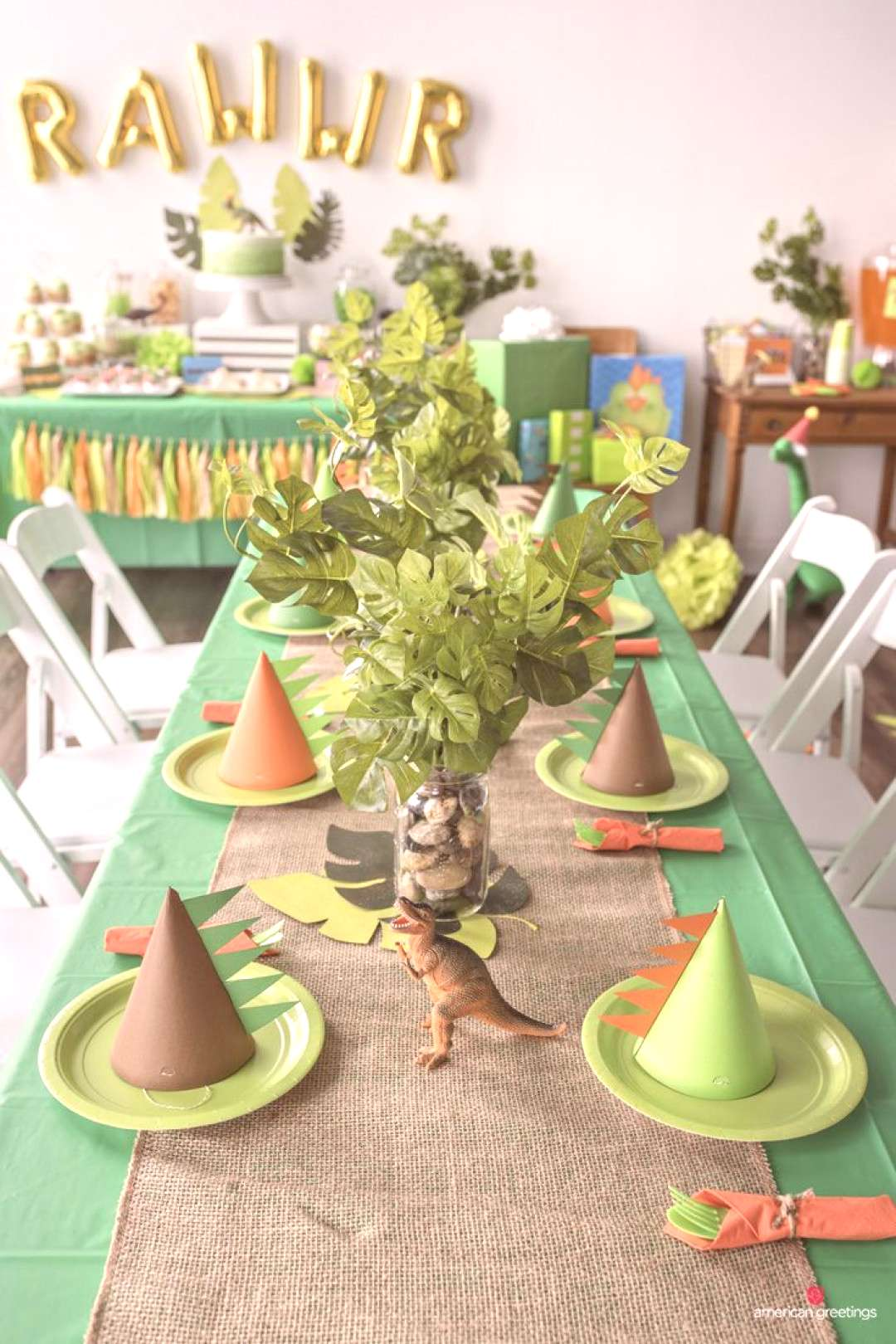 Birthday Party Ideas Dinosaurs may be extinct, but their timeless appeal continues to make dinosaur