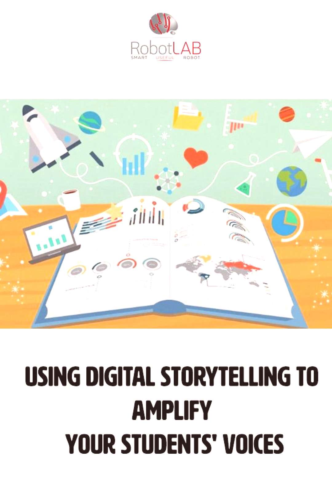 Digital storytelling is a fantastic way to implement technology and digital literacy into the class