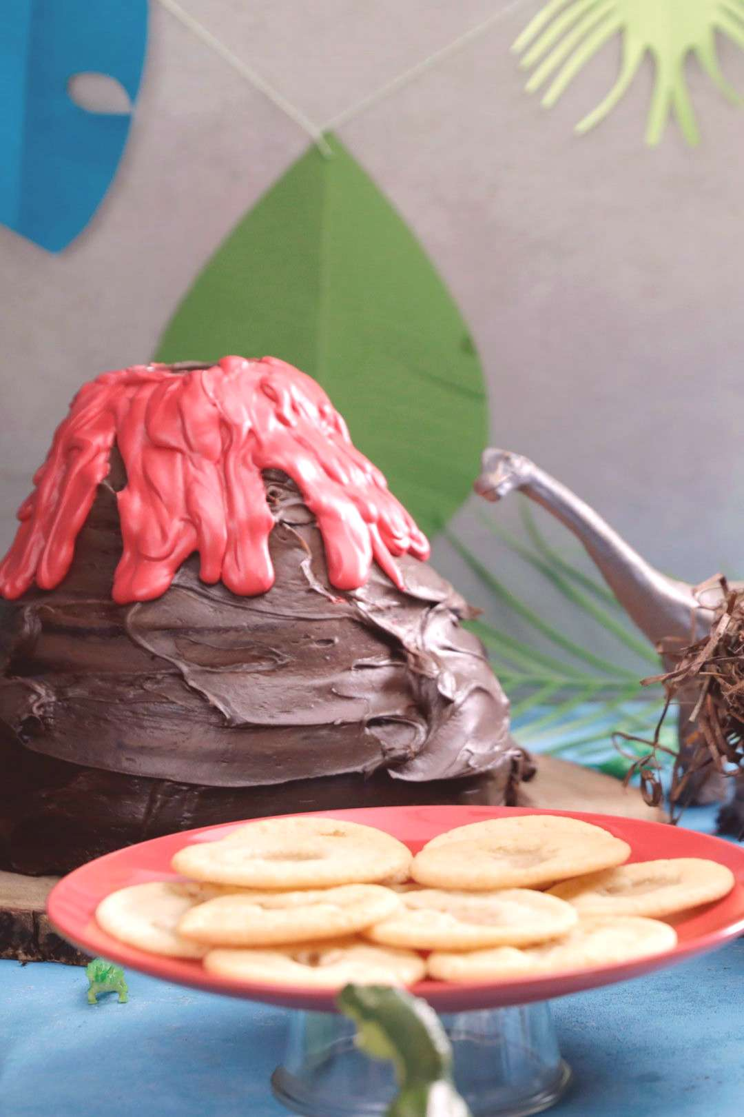 Dinosaur Birthday Party Score dino-sized points with this dinosaur-themed party featuring an erupti