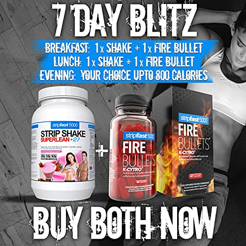 Fire Bullets with K-CYTRO for Women amp Men, Weight Management