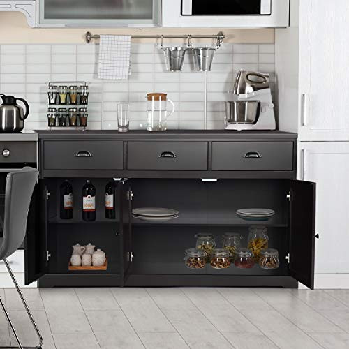 Giantex Sideboard Buffet Server Storage Cabinet Console