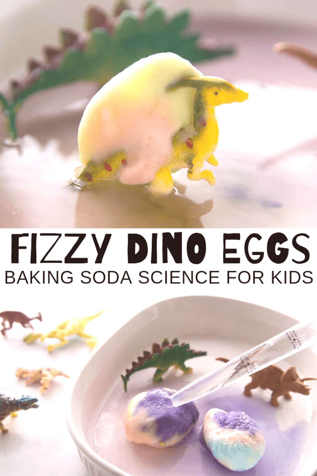 hatching dinosaur eggs for a fun simple science activity for kids