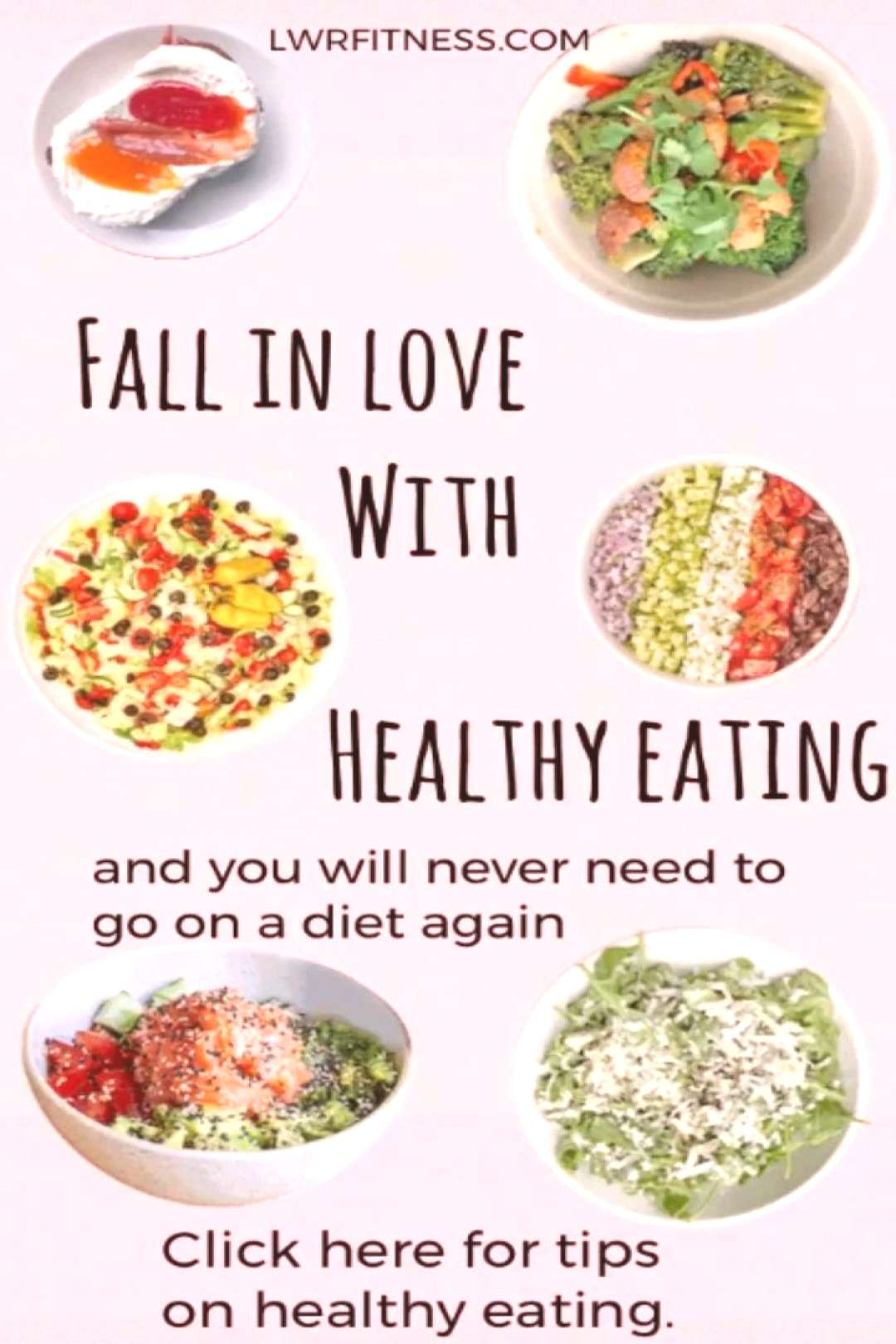 HEALTHY EATING- healthy eating habits that are easy to follow. This blog has 6 easy tips which make