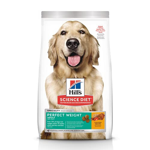 Hills Science Diet Dry Dog Food, Adult, Perfect Weight for