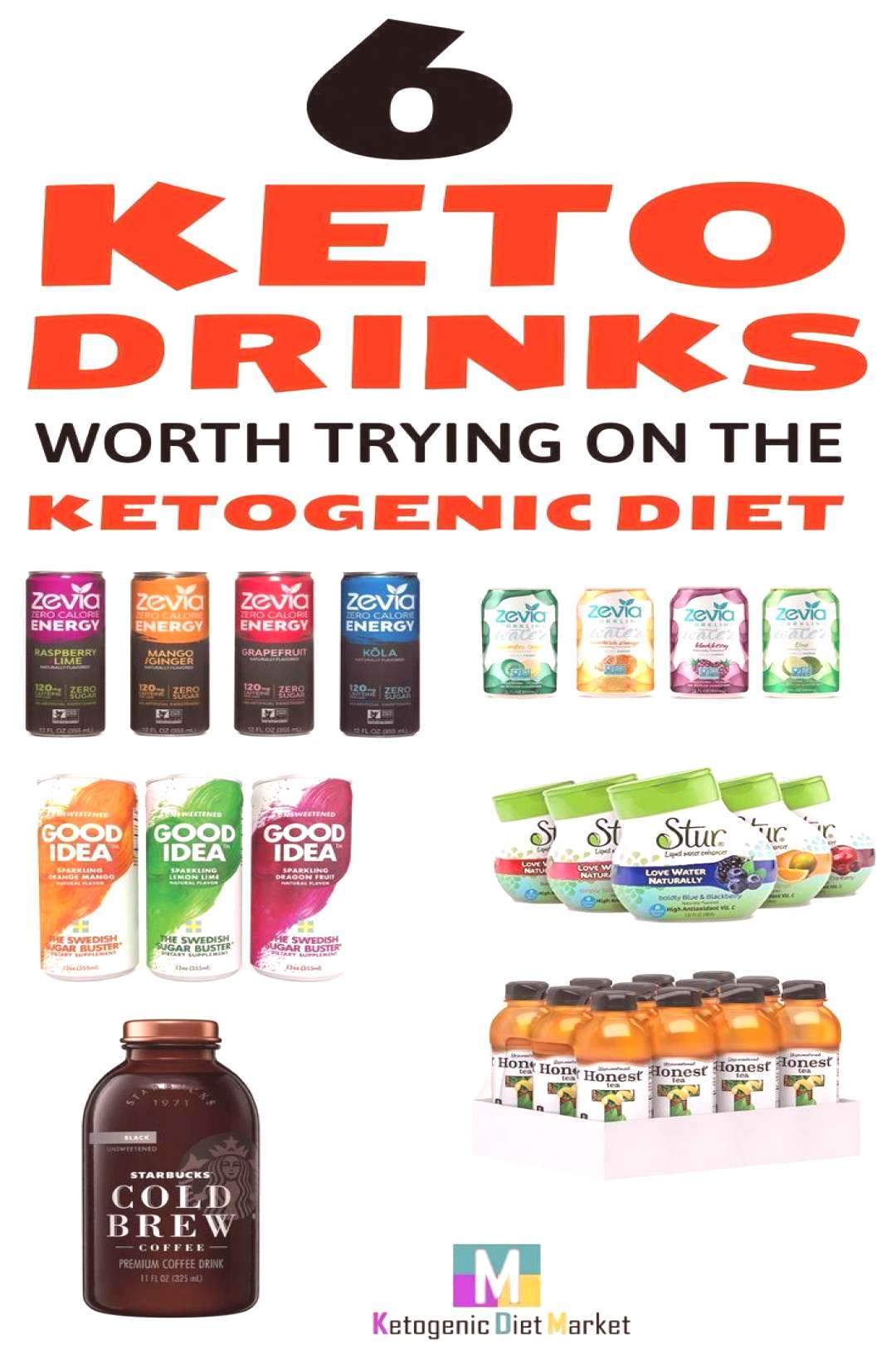 Keto Diet Shop - The Ultimate Ketogenic Support Supplement 6 keto drinks to enjoy on the ketogenic