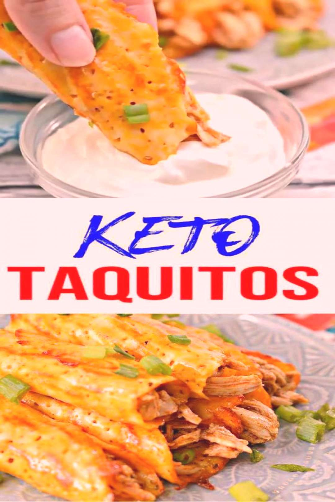 Keto Taquitos! BEST Low Carb Keto Taquitos Cheese Wrapped Chicken Idea – Quick amp Easy Ketogenic D
