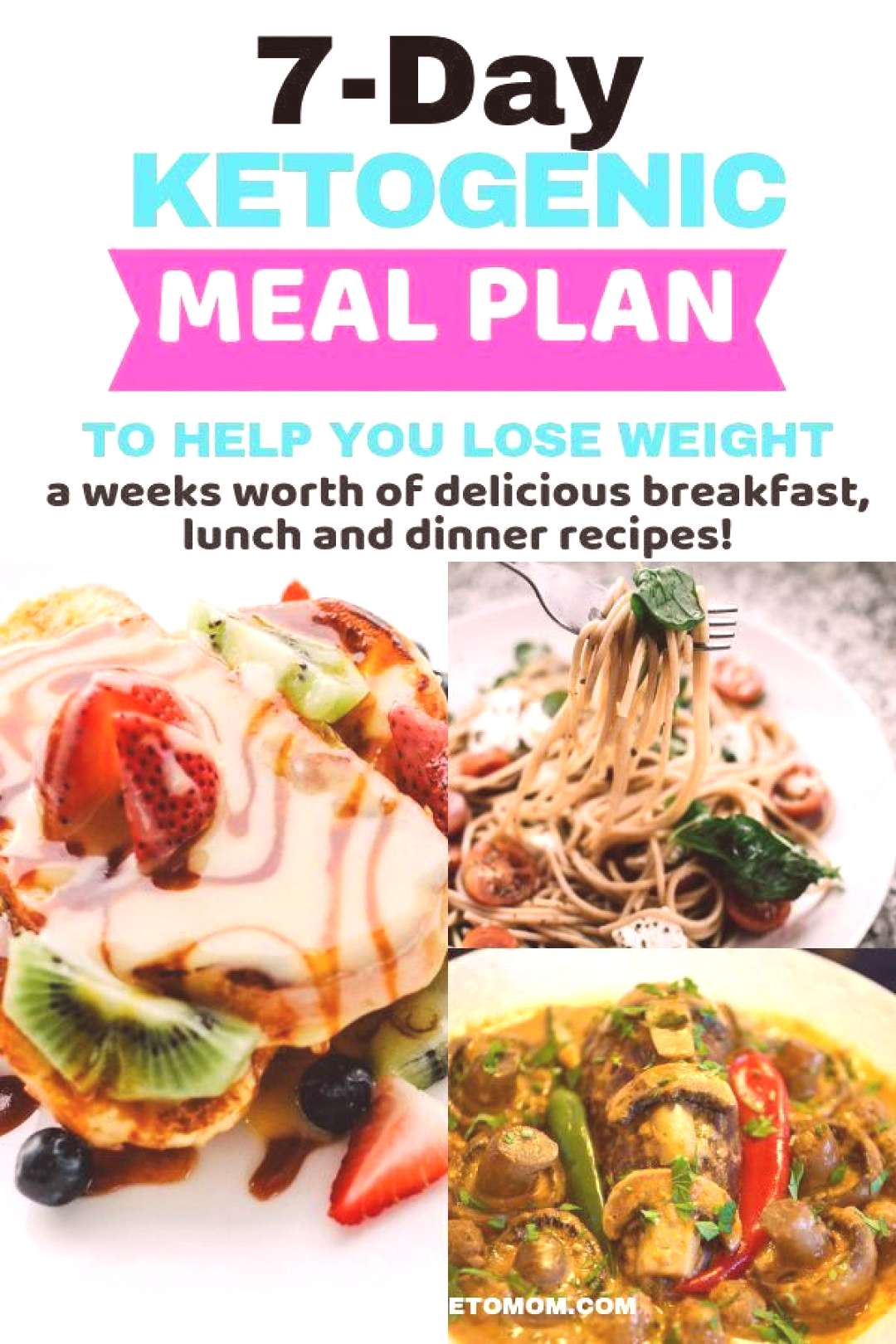 Ketogenic Diet for Beginners + 7 Day Meal Plan To Make Losing Weight So Easy! Ch... -