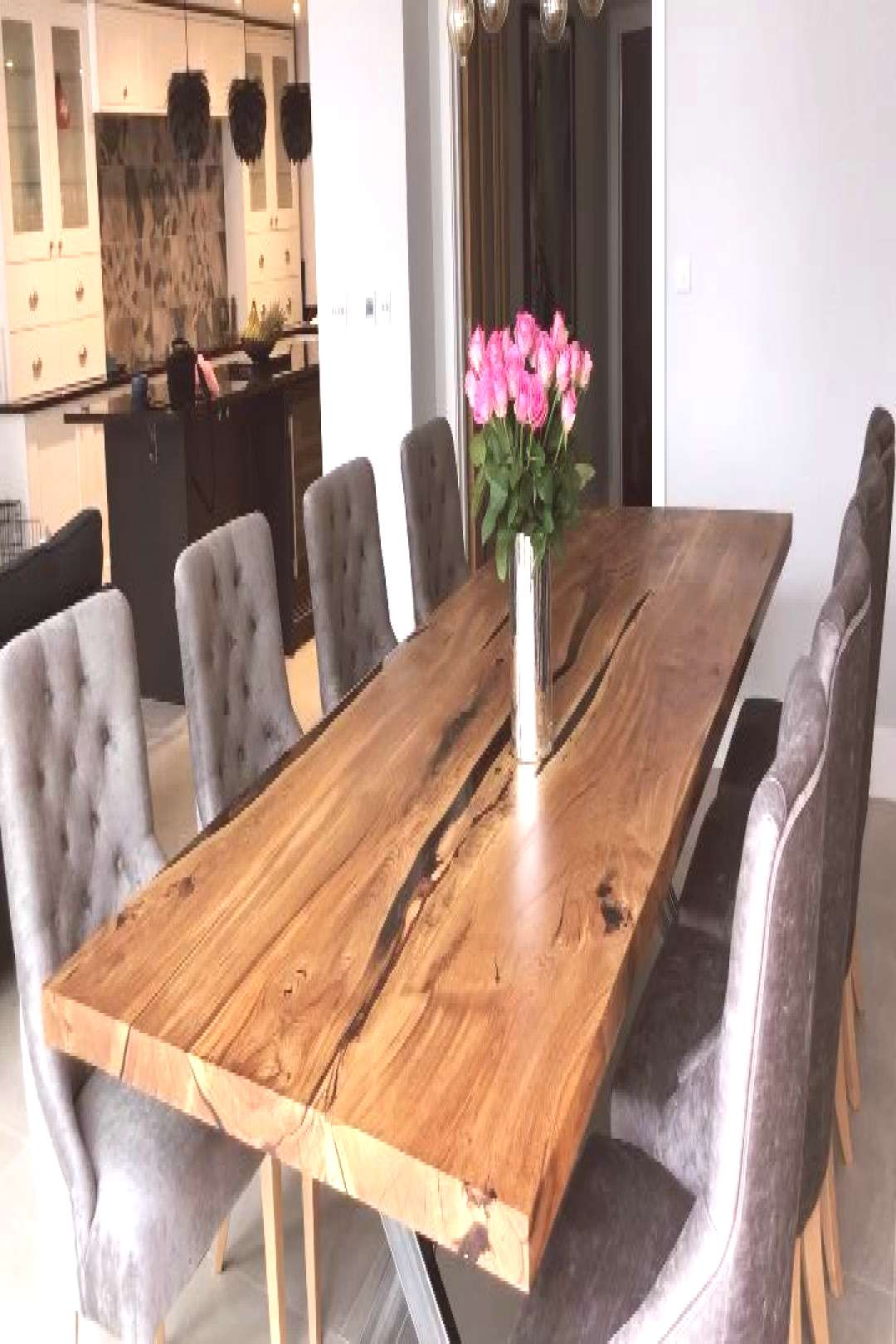 Large English Oak Dining Table by Earthy Timber UK Earthy - Refined English Oak Dining Table 3000x1