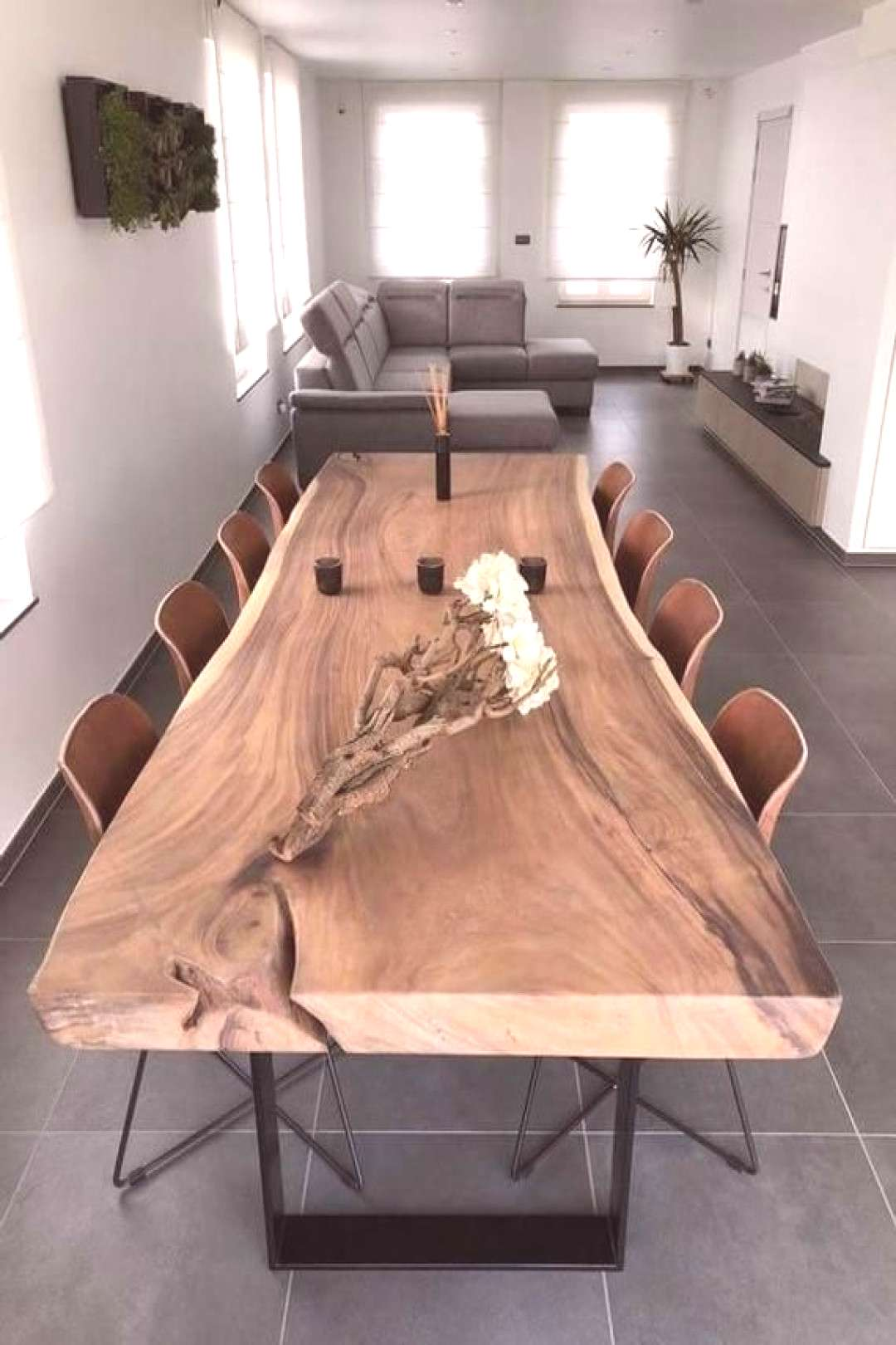 Live Edge Dining Table (A3) - -