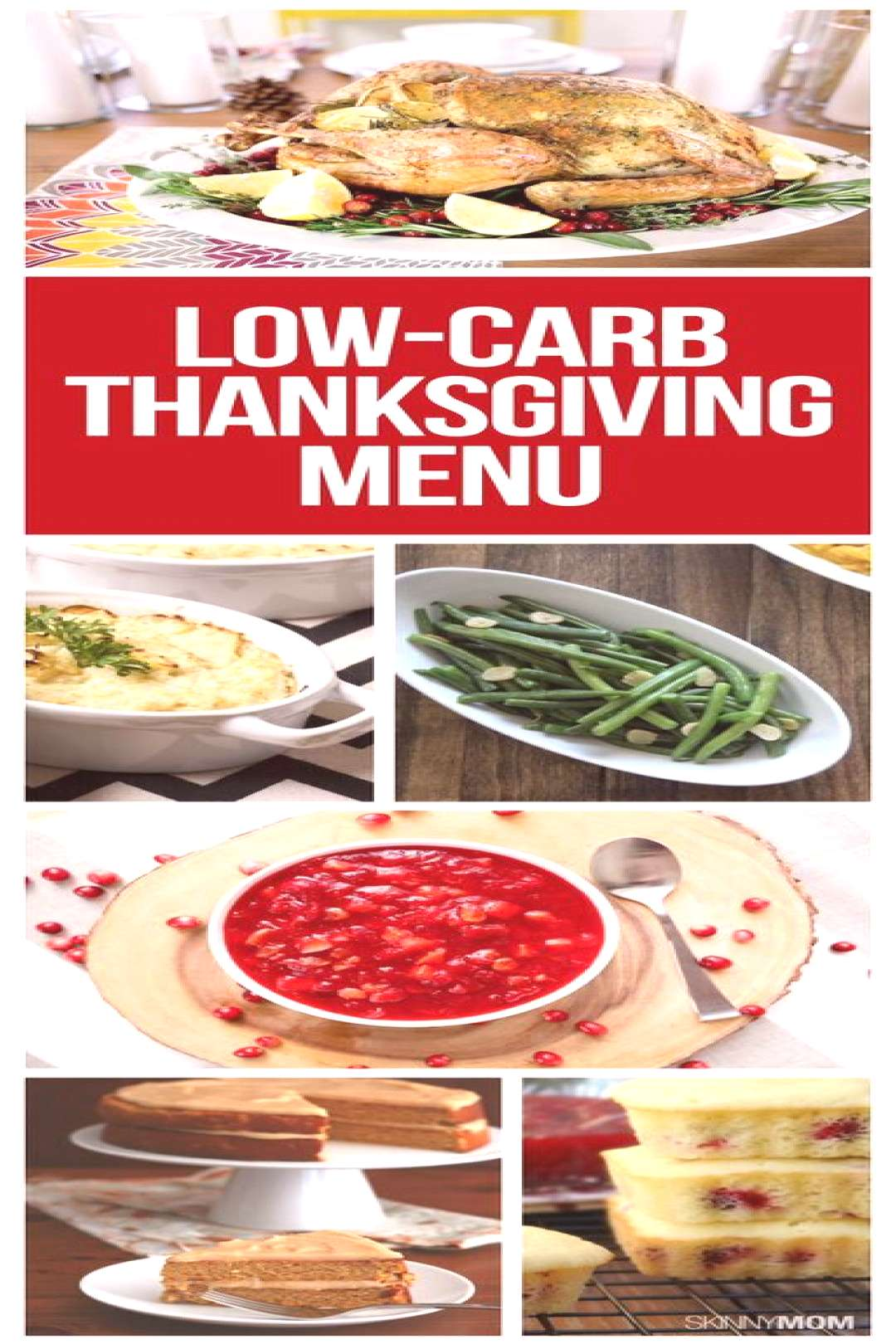 Looking for a HEALTHY Thanksgiving dinner? This Thanksgiving menu is full of low-carb holiday recip