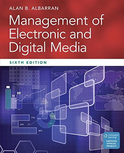 Management of Electronic and Digital Media (Cengage Series