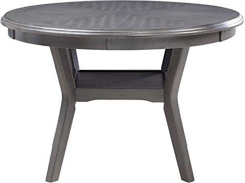 New Classic Furniture Amy 5-Piece Dining Table Set, Gray
