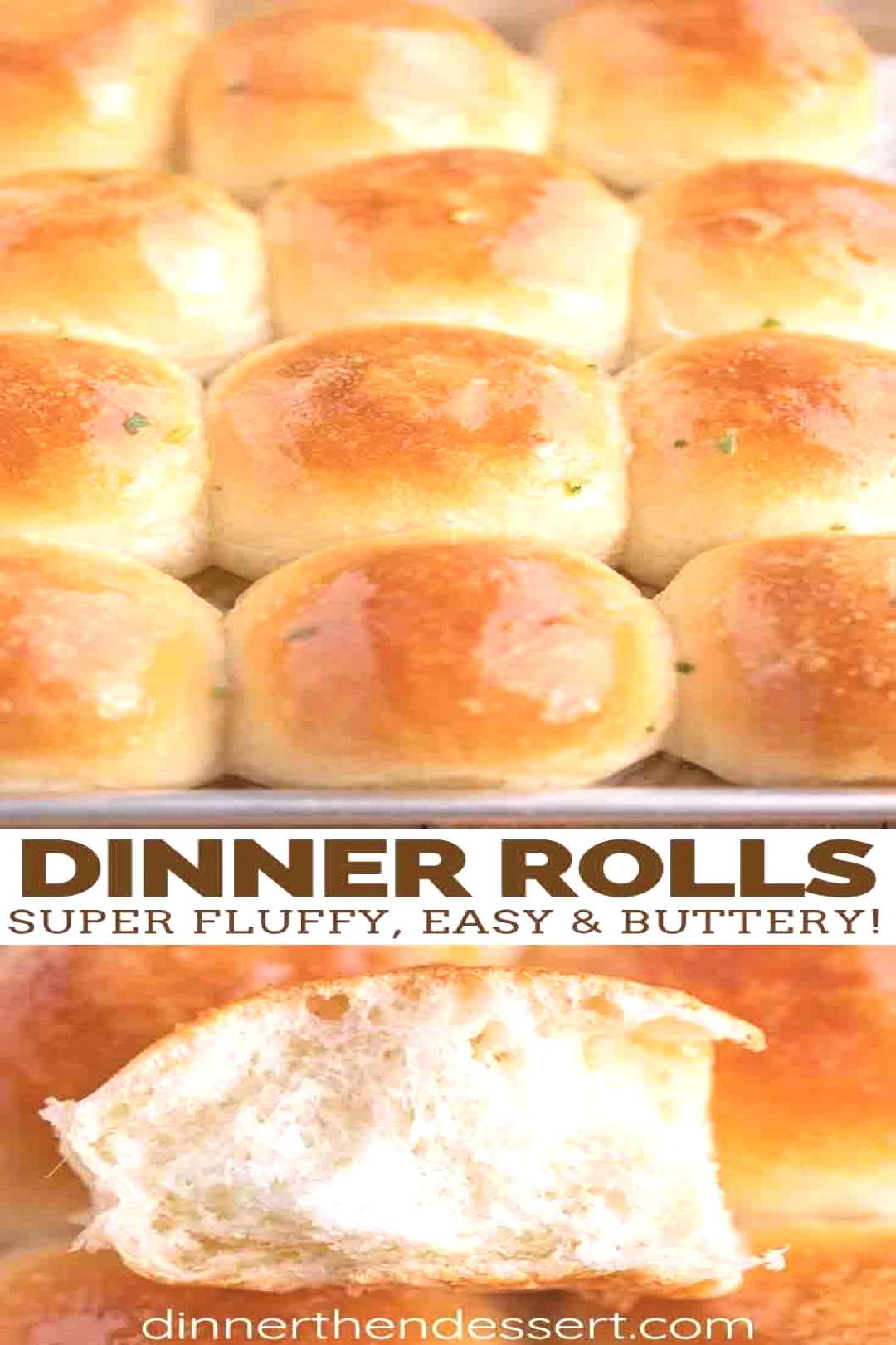 Perfectly Easy Dinner Rolls are an incredibly light, fluffy, buttery addition to dinner, and are ha