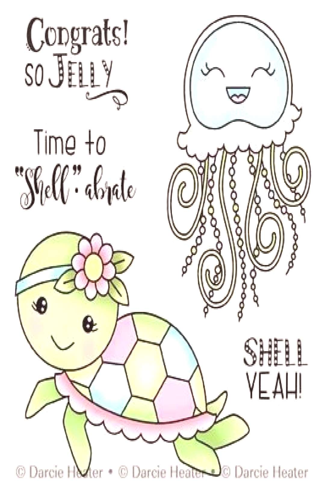 So Jelly, Darcies Clear Stamps