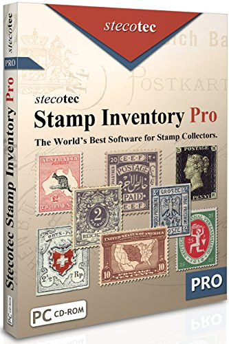 Stamp Collecting Software Stecotec Stamp Inventory Pro -
