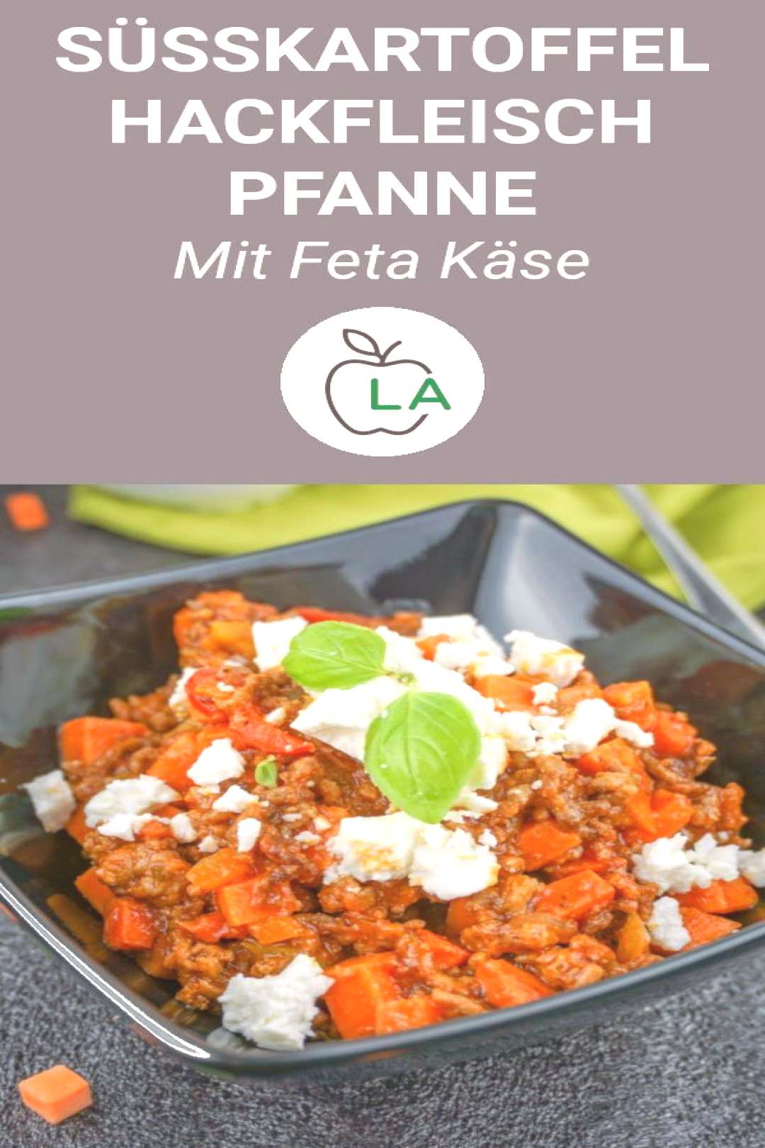 Sweet potato minced pan - A dreamy sweet potato mince pan that is low carb, low in calories and hea