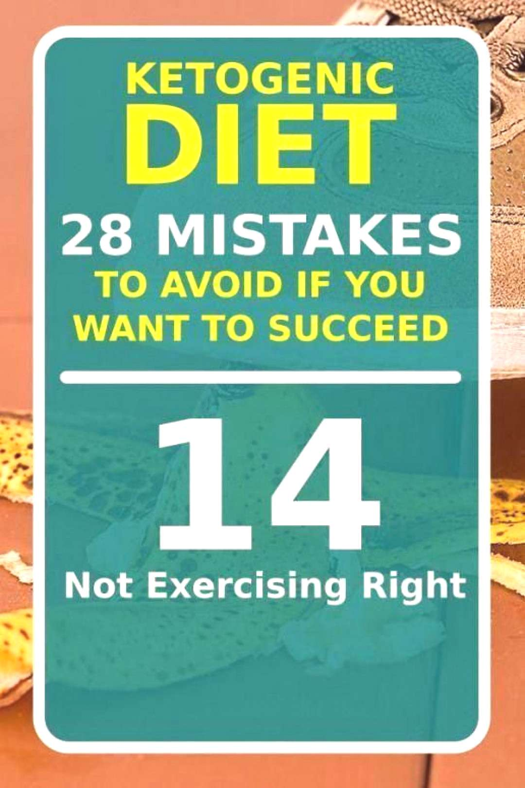 The Ketogenic Diet is a very effective way to lose weight and become healthier however due to sever