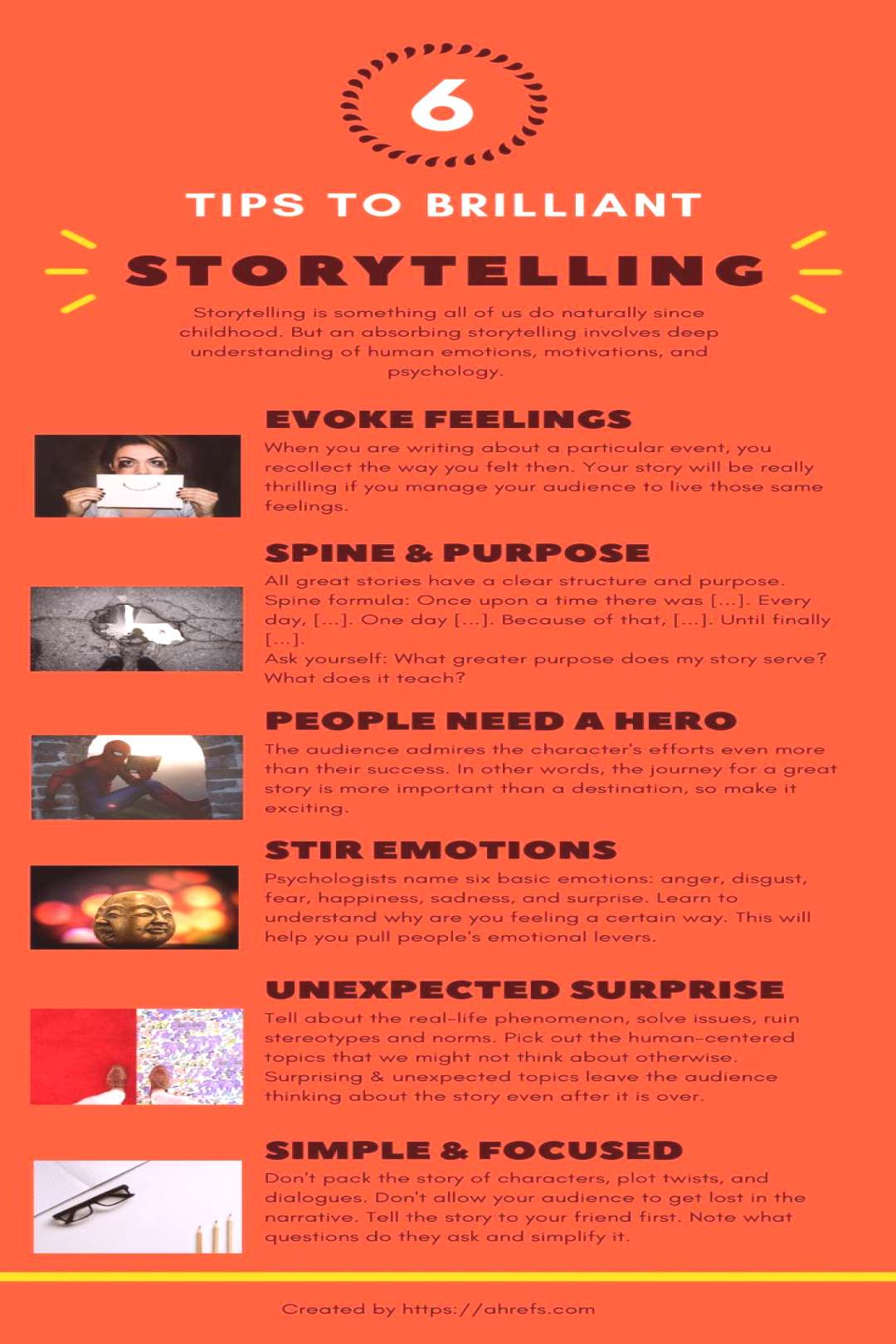 The Ultimate Storytelling Guide [Infographic]