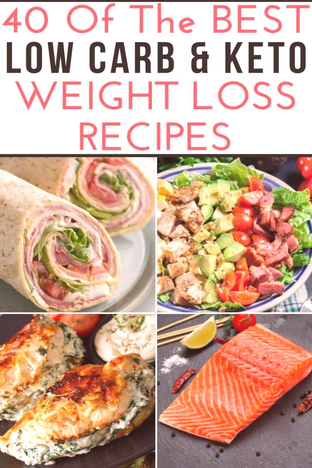 These low carb recipes will jumpstart your weight loss efforts and make meal planning easy!