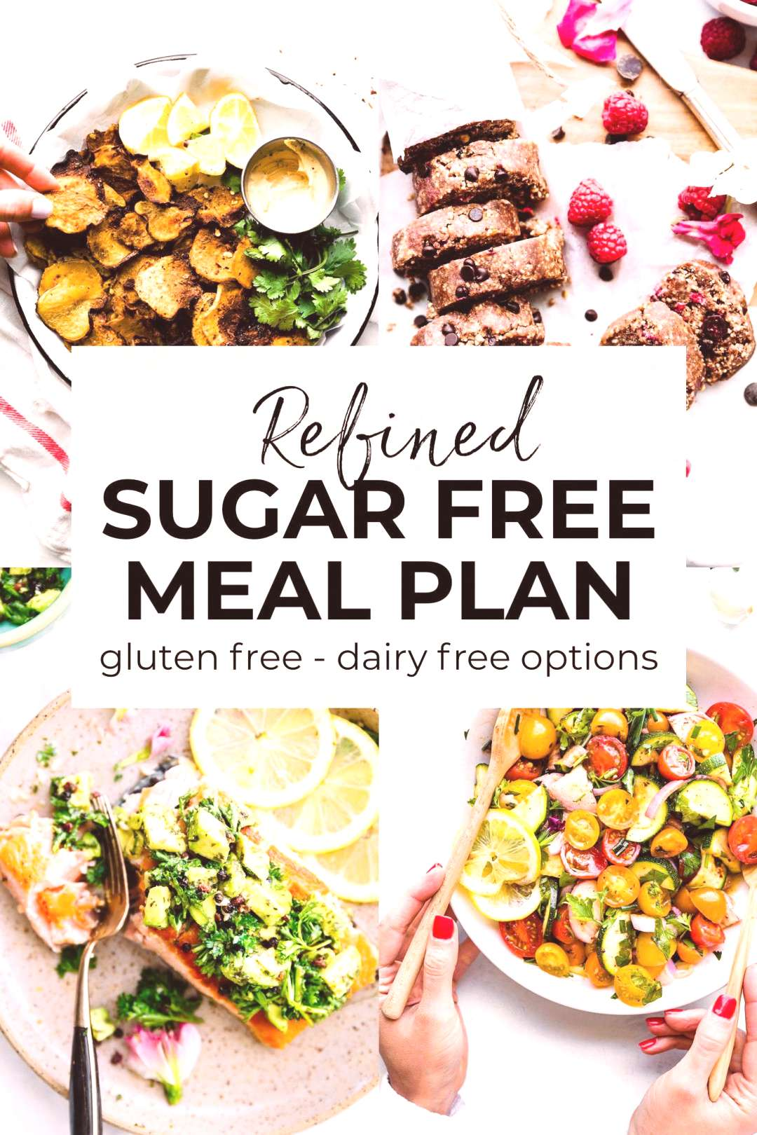 This refined sugar free diet plan and guide can help you make healthier eating choices. Use our nat