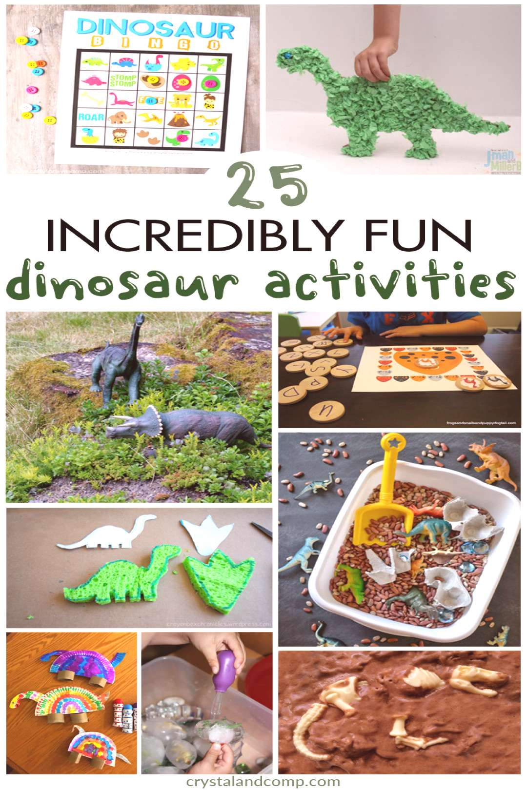Tons of D is for Dinosaur Activities  